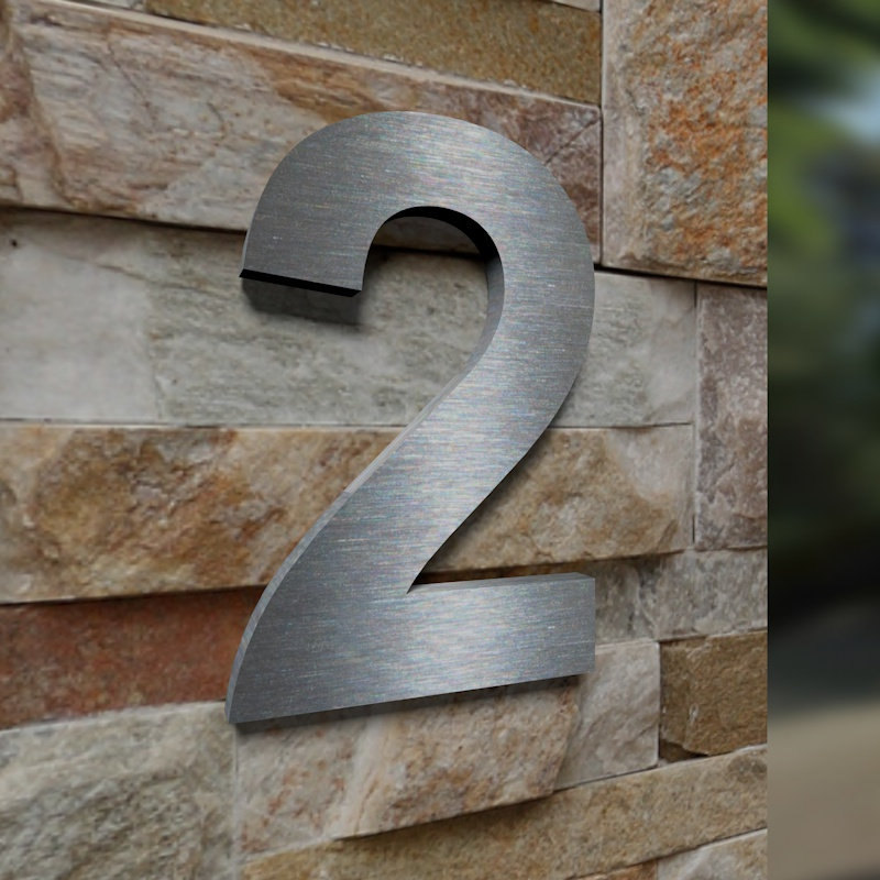 tuerklingel shop24 edelstahl hausnummer 2. Black Bedroom Furniture Sets. Home Design Ideas